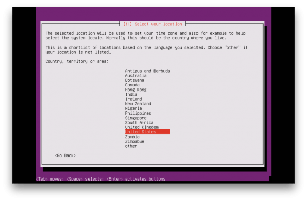 Setting up cloud server ubuntu terminal
