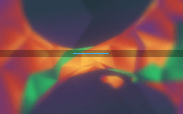 Loading Desktop Kubuntu 16.04 Xenial Xerus