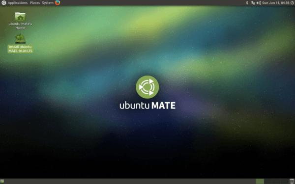 Desktop Ubuntu MATE 16.04