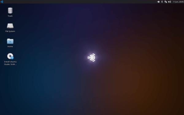 Desktop Ubuntu Studio 16.04 Live